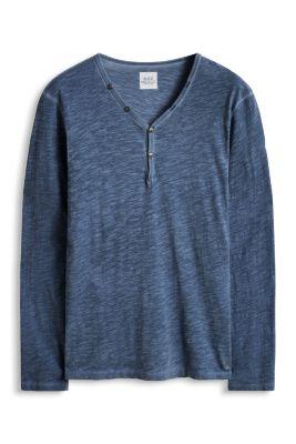 Esprit / Vintage Jersey Henley, 100% BW