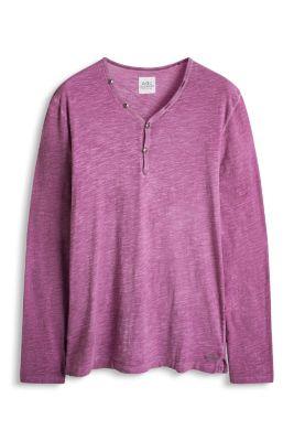 Esprit / Vintage jersey Henley, 100% cotton