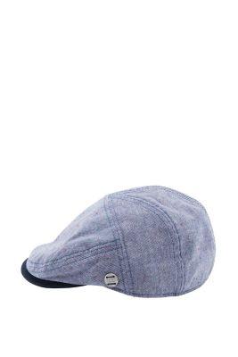 Esprit / Light cap in cool two-tone fabric
