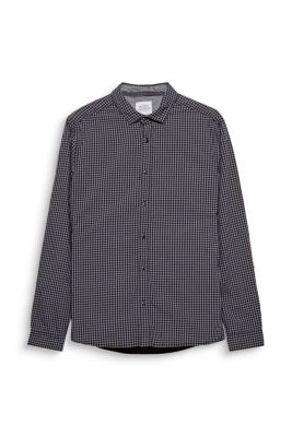 Esprit / Chemise à carreaux, 100 % coton