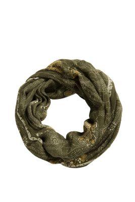 Esprit / Loop-Schal aus Baumwolle-Lyocell