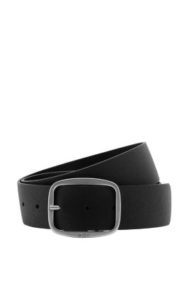 Esprit / Gürtel aus strukturiertem Leder