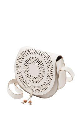 Esprit / Umhängetasche mit Druckknopf-Klappe