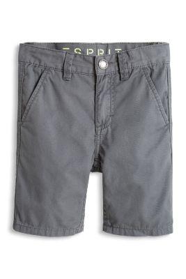 Esprit / Bermuda mit Struktur, 100% Baumwolle