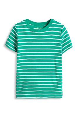 Esprit / Stribet ribshirt, 100% økologisk bomuld