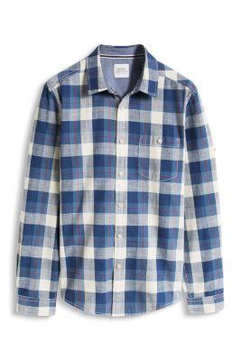 Esprit / Turn-up Hemd, 100% Baumwolle