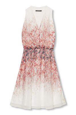 Esprit / Printed, flowing georgette dress