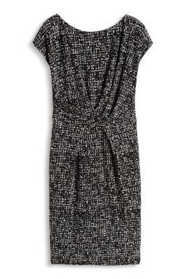 Esprit / Graphic-Print Kleid aus fließendem Jersey