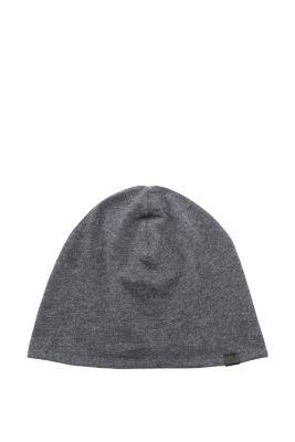Esprit / Jersey Mütze aus Baumwoll-Mix