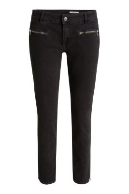 Esprit / Ankle jeans with zip pockets