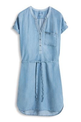 Esprit / Fließendes Denim-Kleid