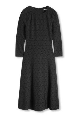 Esprit / Midi-Kleid aus edler Spitze
