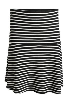 Esprit / Swirling skirt made of stretch jersey