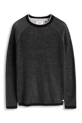 Esprit / Melange jumper, 100% cotton