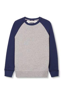 Esprit / Sweater colorblock en coton mélangé