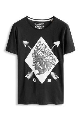 Esprit / Baumwoll Jersey T-Shirt mit Print