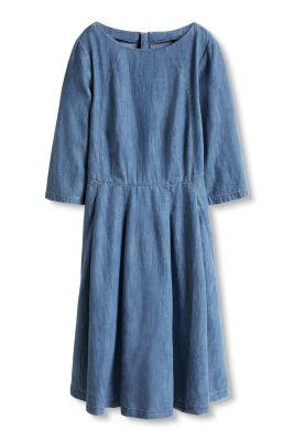 Esprit / Denim-Kleid aus Baumwolle