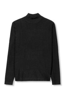 Esprit / Pulli mit Struktur, 100% Baumwolle