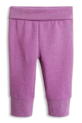 Esprit / Basic Sweat-Hose aus Organic Cotton