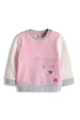 Esprit / Bär Print Sweatshirt, 100% Organic Cotton