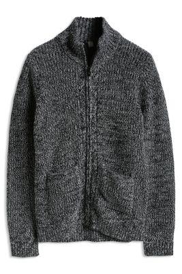 Esprit / Rippenstrick Cardigan, 100% Baumwolle