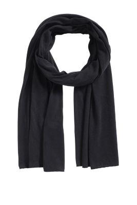 Esprit / Jersey Schal aus Baumwoll-Mix