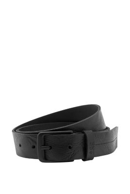 Esprit / leather belt with robust graining