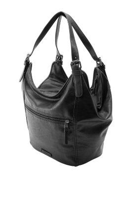 Esprit / Hobo bag met schuine rits