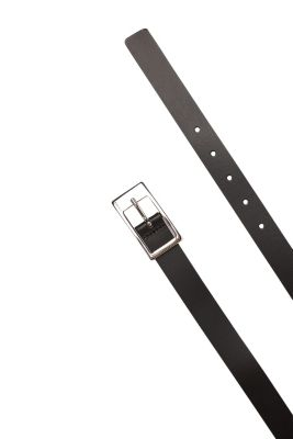 Esprit / narrow smooth leather belt