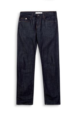 Esprit / Non-stretch jeans met donkere wassing