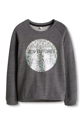 Esprit / Cotton sweatshirt with a bright print