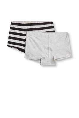Esprit / Baumwoll-Jersey-Shorts im Doppelpack