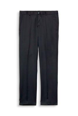 Esprit / Anzughose mit Stretch und  feiner Struktur